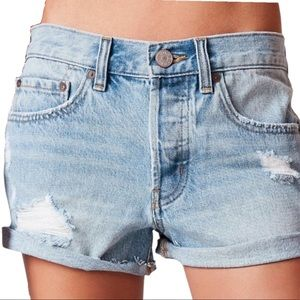 Urban Outfitters BDG Tomgirl Mid Rise Jean Shorts